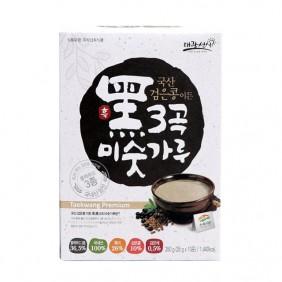 검은콩이든흑3곡미숫가루  350g(10개)