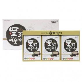 국산 검은콩이든 흑3곡미숫가루세트 1,050g
